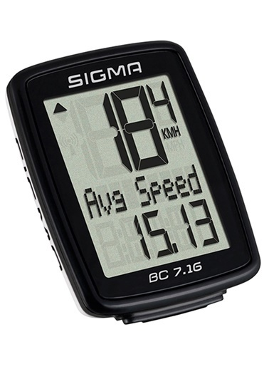 Sigma Sigma Km Saati Bc 7.16 Kablolu Siyah  Siyah